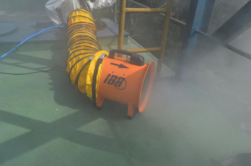 080091d231879 Exaustor insuflador de ar portátil - IBR